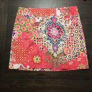 Jcrew colorful skirt